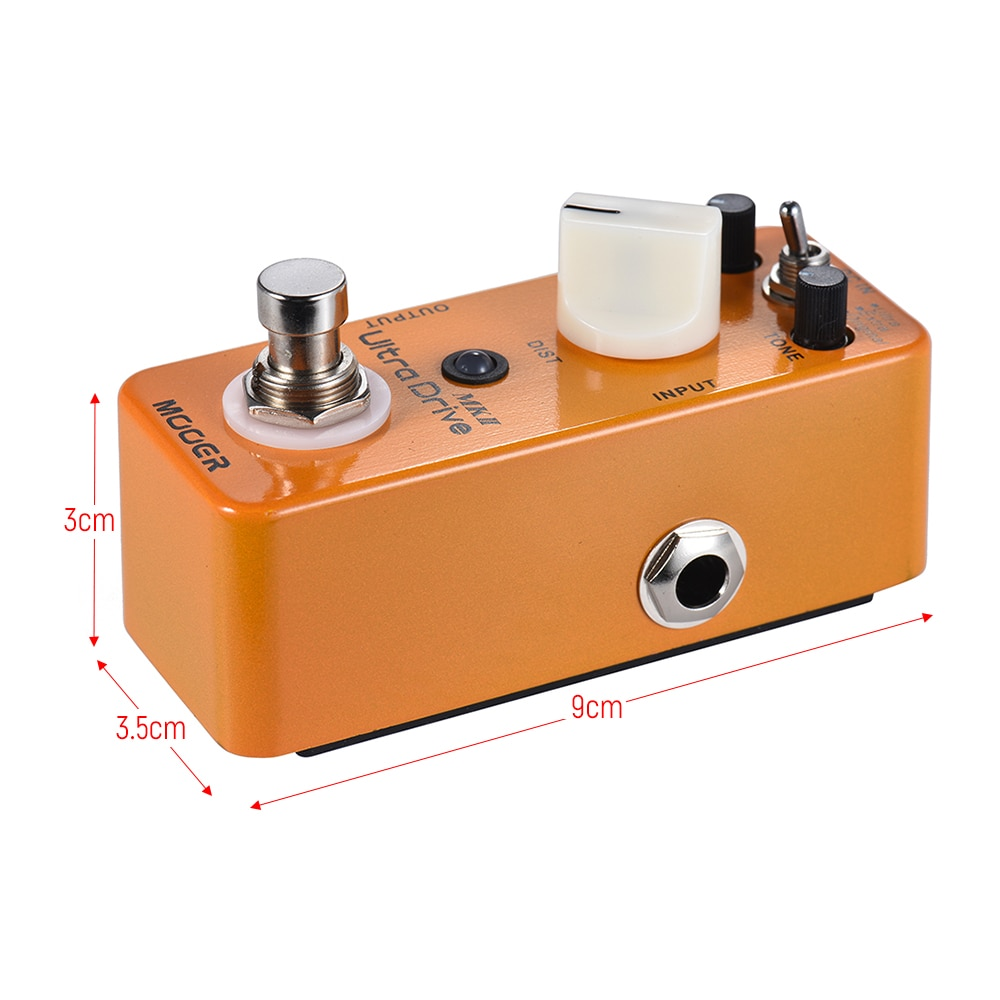 Mooer Guitar Distortion Pedal Distorsion Guitarra Accessories for Guitar Processor Mds6 Ultra Drive Mkii Multi Dynamic Effect enlarge