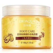 BIOAQUA Brand Foot massage frosted scrub feet membrane membrane foot care Feet cream Beauty Health C