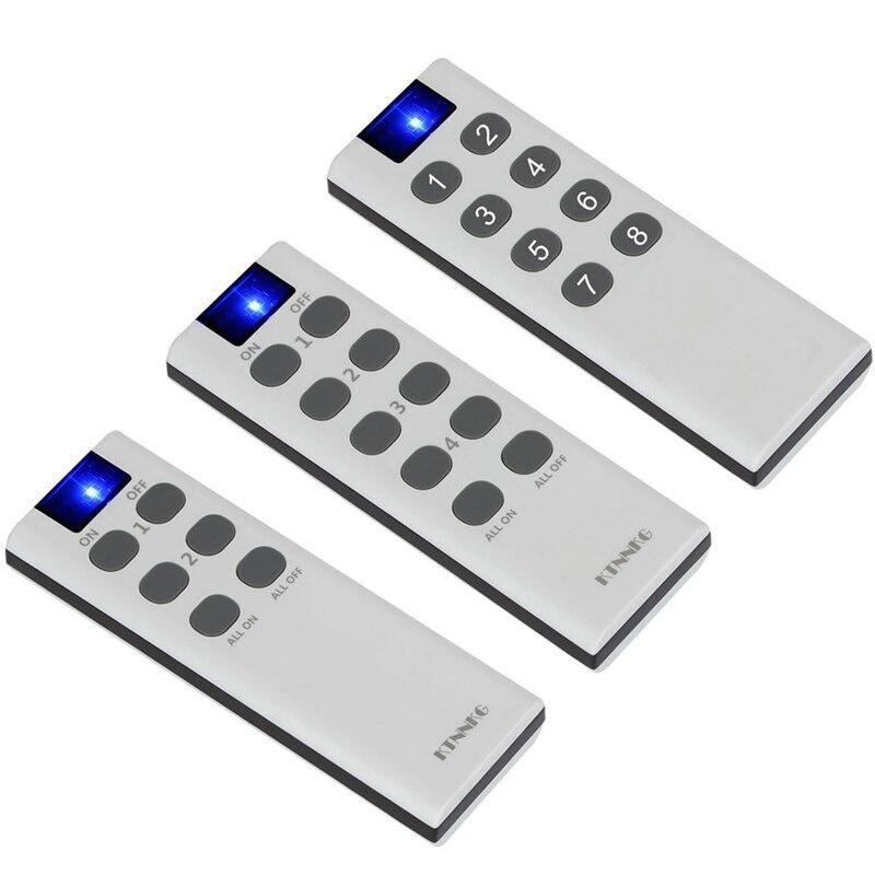 KTNNKG 433 Mhz Universal Wireless Remote Control Switch RF Transmitter Electronic Lock Control Diy Smart Home