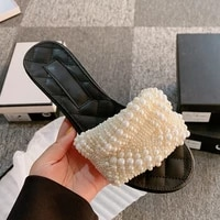 100 high quality brand new fashion low heel open toe womens slippers rhinestone high heels women sandals female