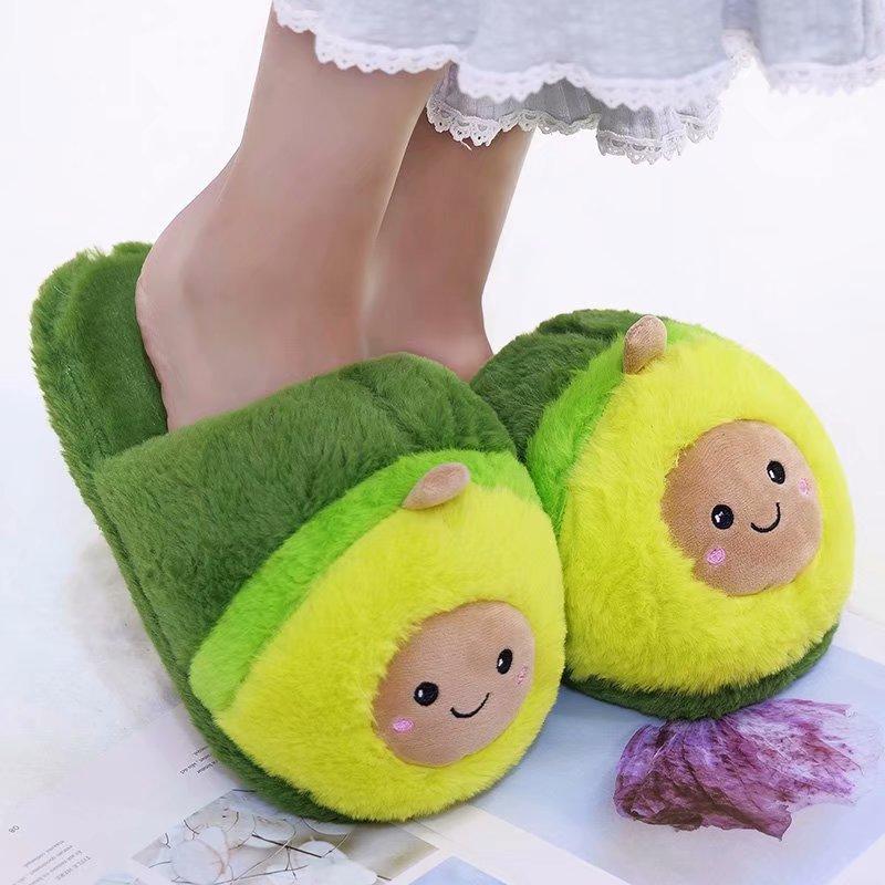 Mulheres flip flop abacate chinelos forma piso em casa macio listra chinelos femininos sapatos meninas primavera inverno sapatos quentes