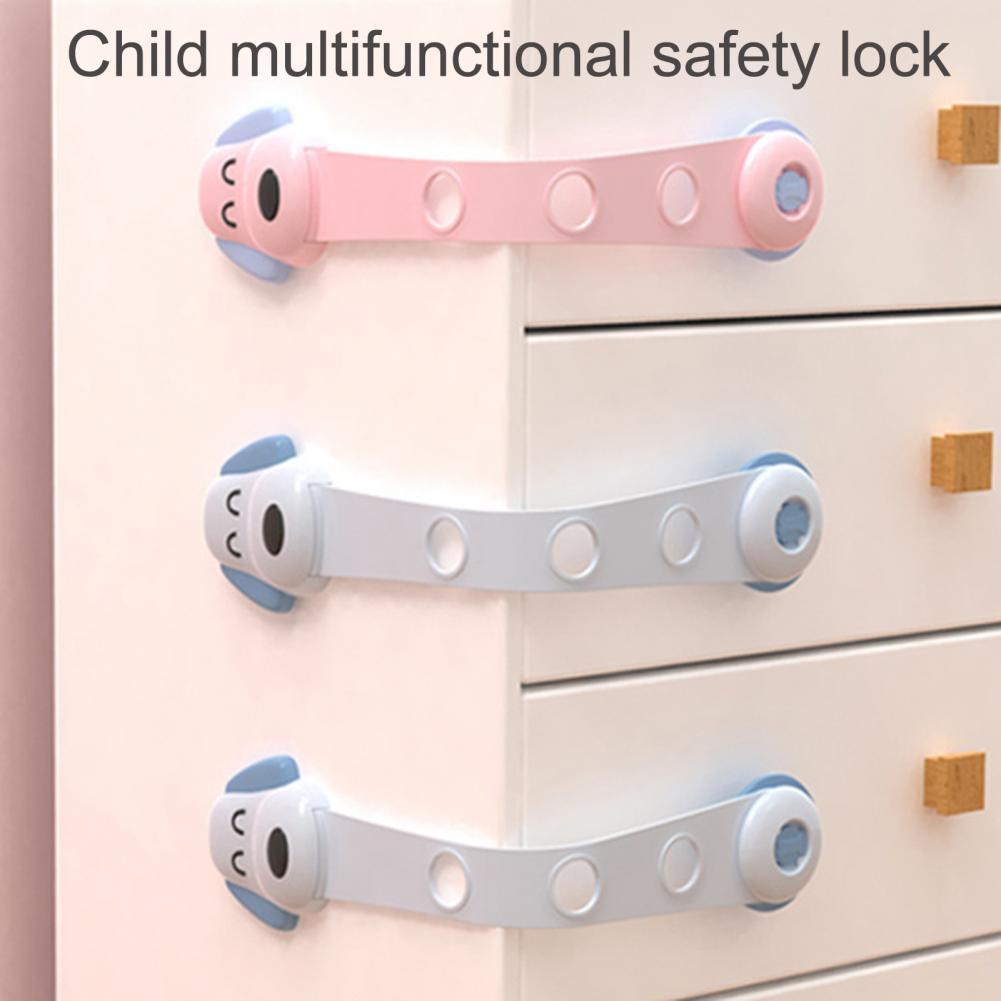 fechaduras com fivela auto adesiva para criancas pequenas 4 unidades travas seguranca