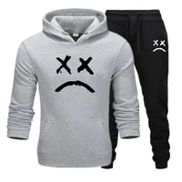 mens tracksuit 2 sets of new fashion jacket sportswear mens sweatpants hoodies spring and autumn mens brand hoodies pants