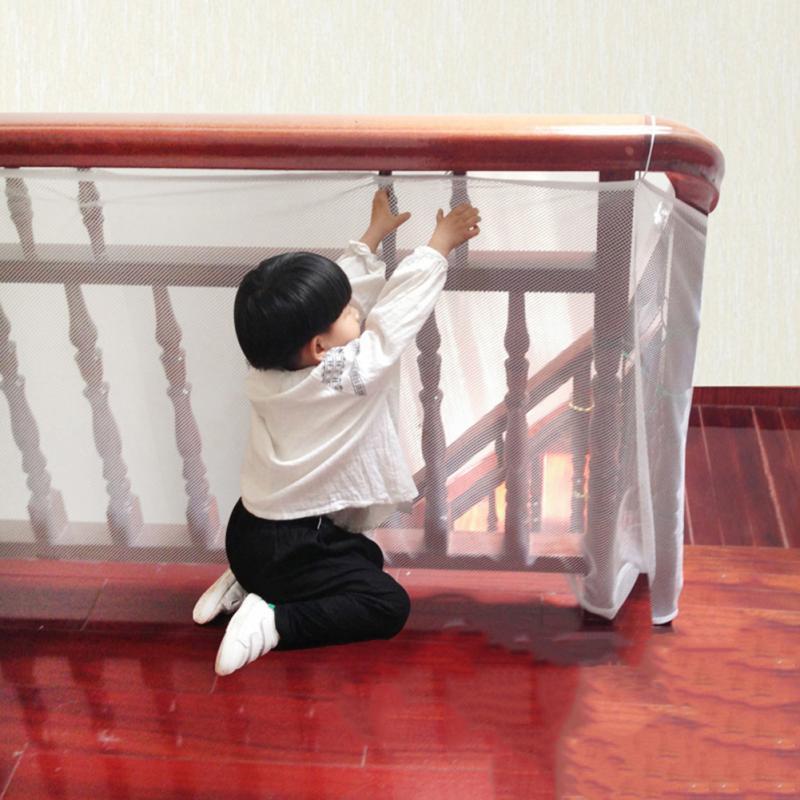 Barandilla de seguridad para niños, barandilla de seguridad para balcón, escaleras, red de seguridad para niños, barandilla de seguridad para niños, Protector de decoración para niños, malla dura gruesa