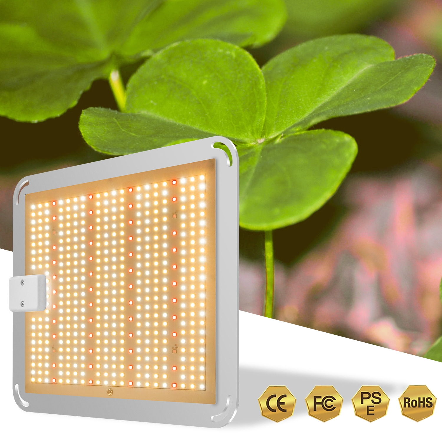 100W LED Grow Light Full Spectrum Quantum Board Phyto Lamp,for Greenhouse Plant Light Hydroponic Plant Growth Lighting enlarge