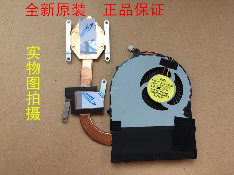 Yeni Laptop cpu soğutucu fan/Soğutucu Toshiba Satellite P50-A P55-A P50T-A P55T-A S50 S55 S55D Radyatör DFS531305M30T 5V 0.5A