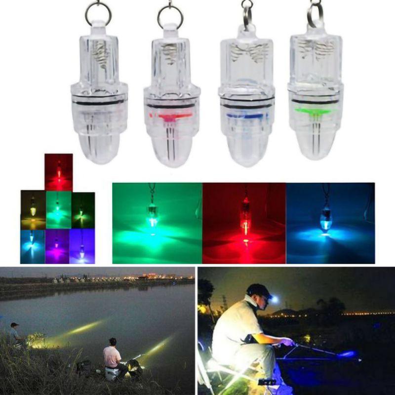 LED intermitente Mini Deep Drop luces subacuáticas pesca calamar señuelo luz verde lámpara accesorios de pesca