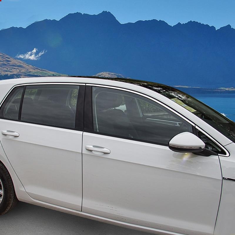 Ajuste para VW Volkswagen Golf 7 Mk7 2013-2019 Auto Accesorios Coche cromo...