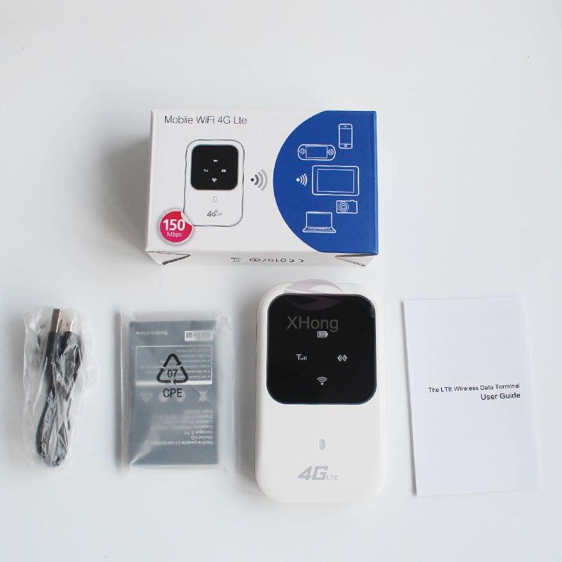 Router inalámbrico 4G LTE WIFI Router 150Mbps de banda ancha móvil Hotspot SIM desbloqueado módem Wifi para Tablet computadora PK E5573... E5577