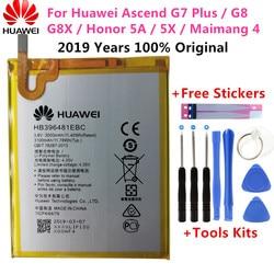 Original Ersatz Batterie HB396481EBC Für Huawei ASCEND G7 PLUS HONOR 5X y6ii GR5 5A G8 G8X RIO L03 UL00 TL00 AL00 3000mAh