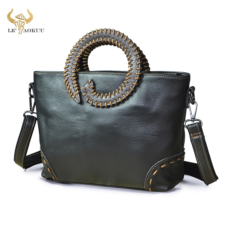 2021 New Quality Leather Famous Brand Luxury Ladies Vintage Shopping handbag Shoulder bag Women Desi