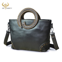 2021 New Quality Leather Famous Brand Luxury Ladies Vintage Shopping handbag Shoulder bag Women Desi