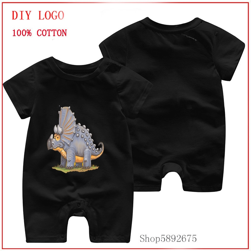 Newly fashion designed with Triceratops Dinosaur 100%Pure cottons comfortable and soft clothes Newbo