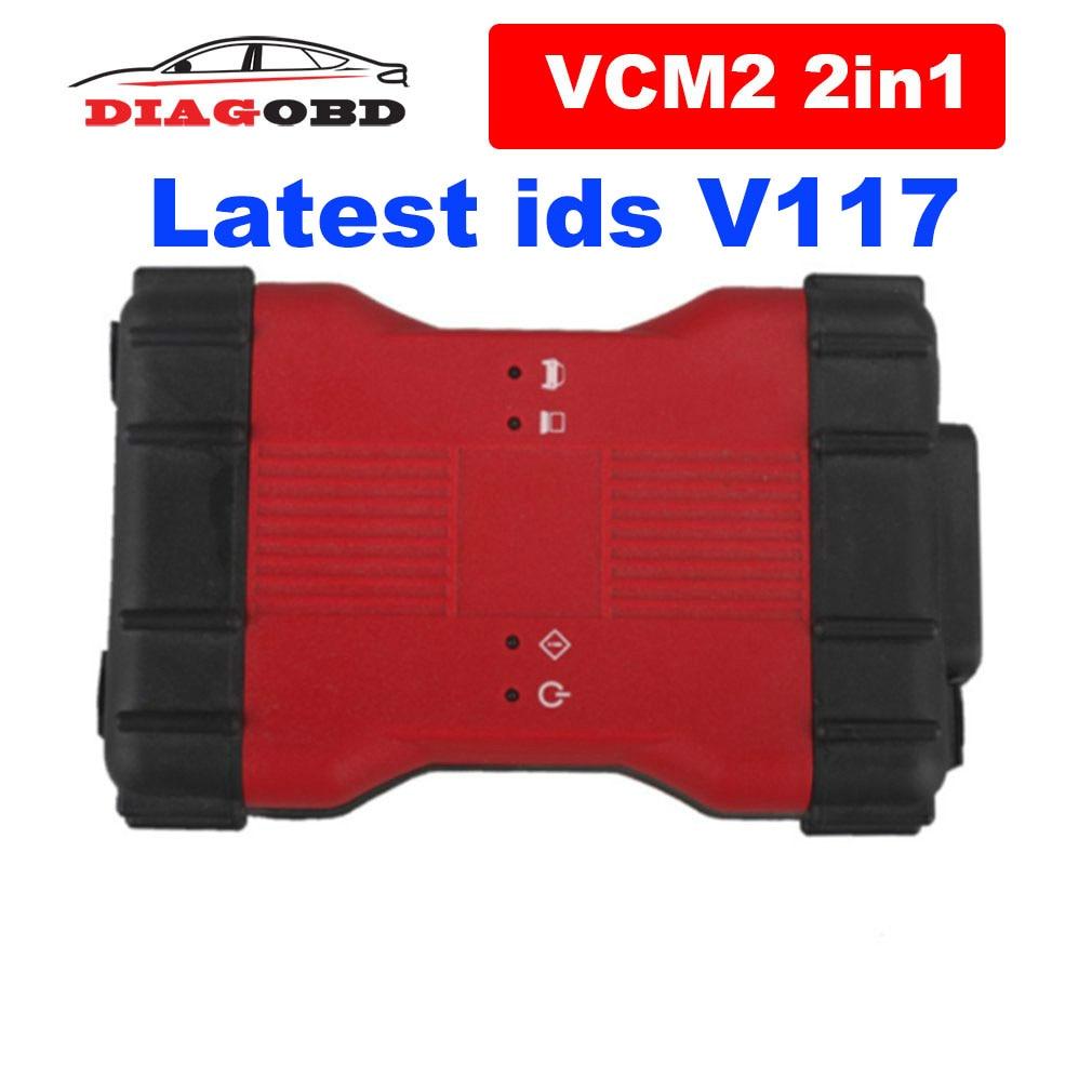 Nieuwste Ids V116 Vcm 2 In 1 Obd Scanner VCM2 Ids V116 V114 Vcm 2 Voor Ford VCM2 Ids V116 voor Mazda Vcm Ii Ids V116 Diagnostic Tool