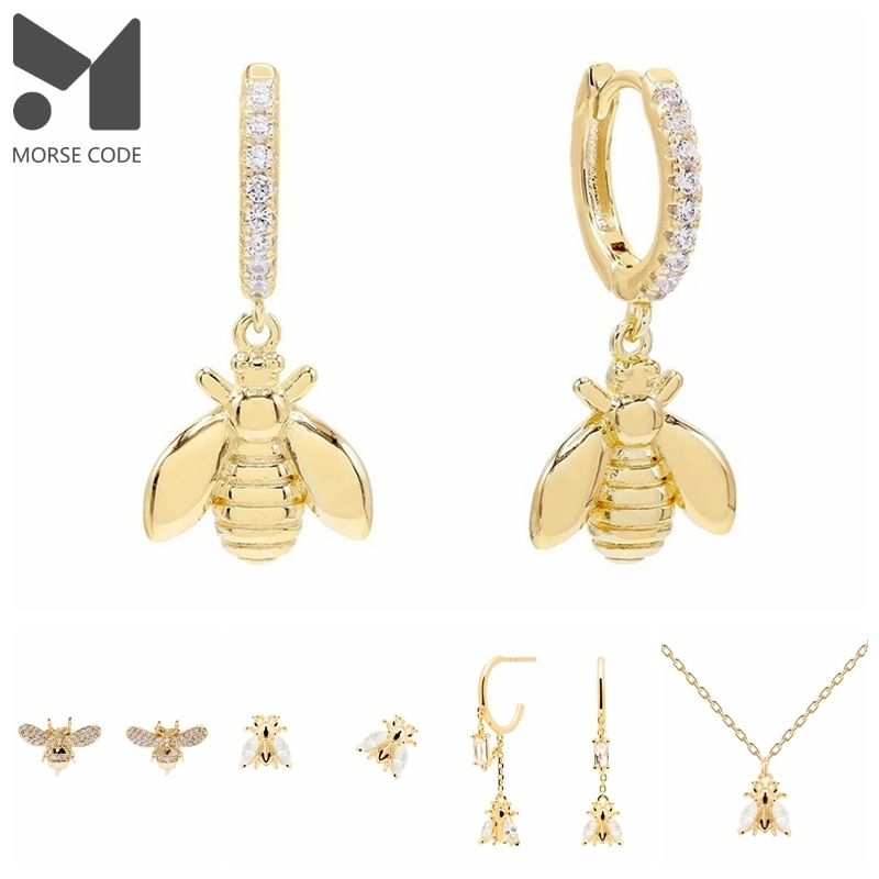 mc-медоносной-пчелы-для-женщин-серьги-18k-позолоченный-925-стерлингового-серебра-серьги-гвоздики-с-pendientes-плата-925-великолепные-ювелирные-украш