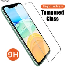 Phone Film Accessories 9H Hard Screen Protector for iPhone 12 Pro Max 12 Mini Smooth Protective Glas