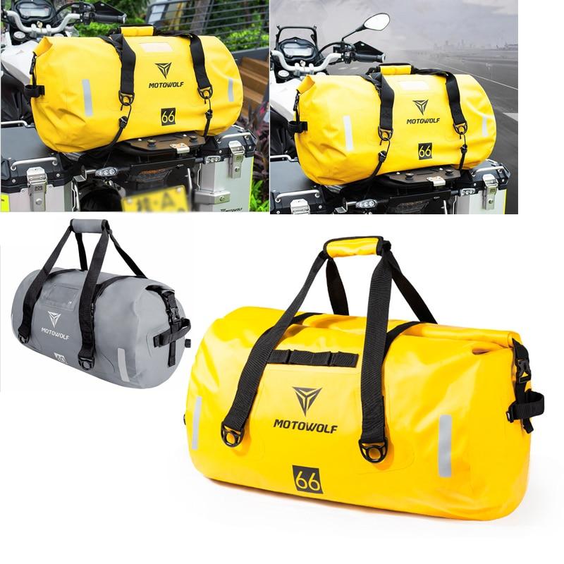 2019New 40L 80L 90L Motorrad Tasche Auto Wasserdichte Lagerung Pack Outdoor Reise Große Kapazität Taschen Schulter Tasche Sattel tasche