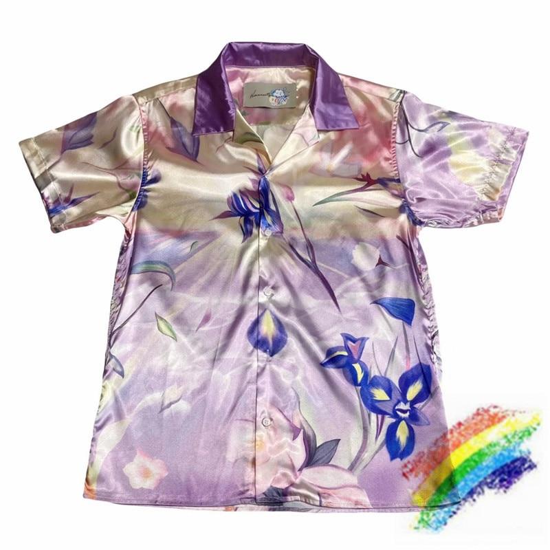 2020FW دافئ العالم قميص الرجال النساء 1:1 جودة عالية الصيف شاطئ نمط عادية فضفاض تيز دافئ العالم القمصان
