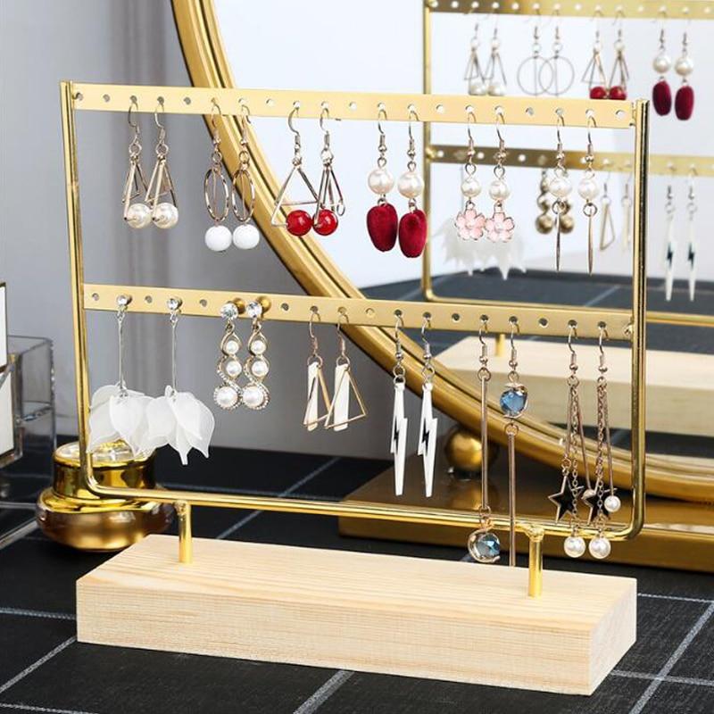 New Steel Stand for Earrings Pendants Bracelets Jewelry Display Stud Earrings Holder Jewellery Rack