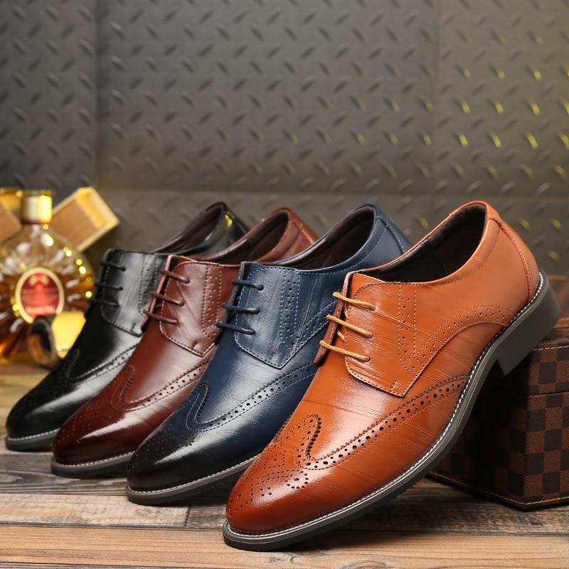 Zapatos De Hombre De talla grande, Zapatos De Vestir informales, Zapatos De...