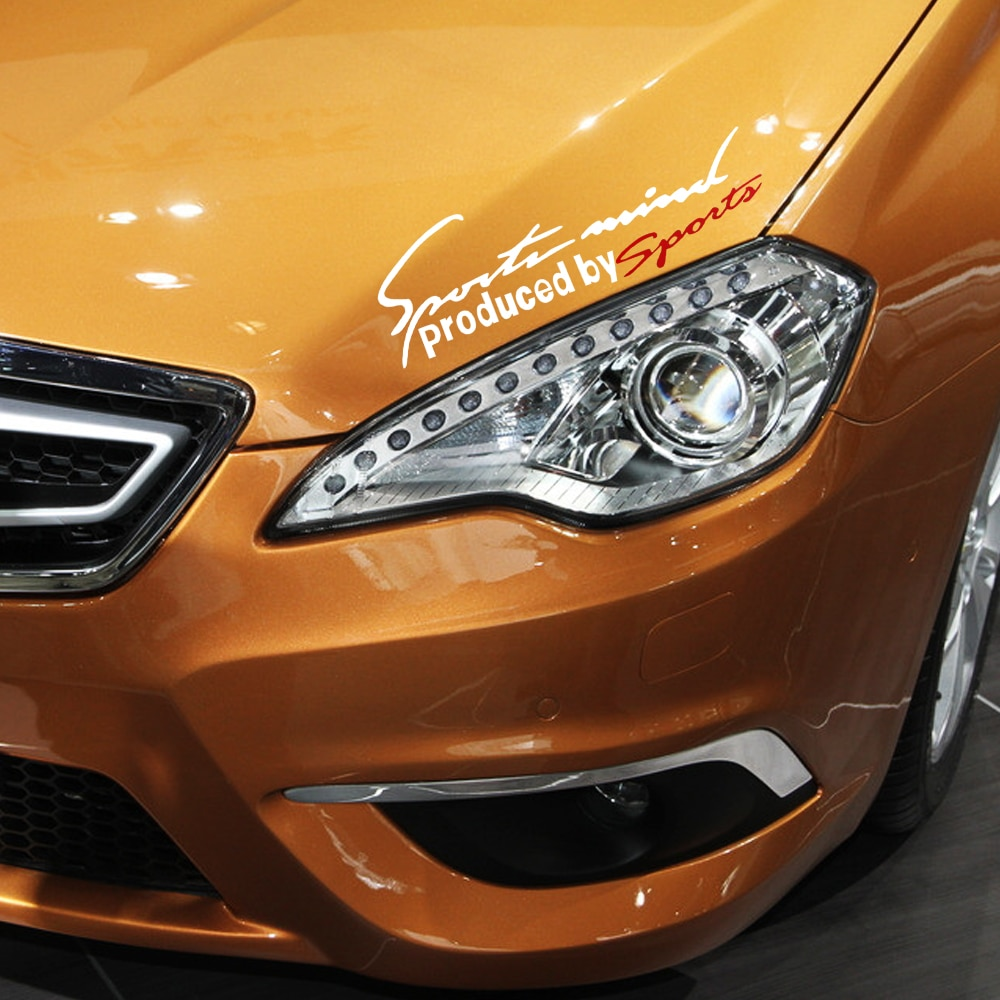 Faro reflectante ceja deporte coche pegatinas para Acura MDX RLX RL TSX RLS ADV-RDX ILX TLX RDX