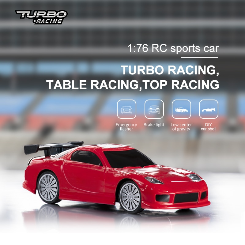 Turbo Racing 1:76 C71 Sports RC Car Limited Edition & Classic Edition with 3 Colors Mini Full Proportional RTR Kit Toys enlarge