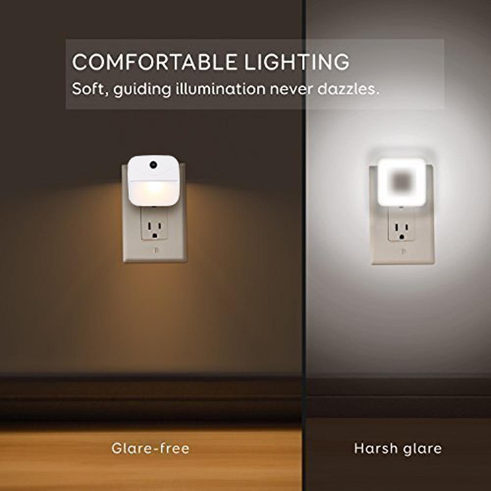 20Pcs/lot LED Night Light Mini Light Sensor Control Nightlight Lamp For Children Kids Living Room Bedroom Lighting enlarge