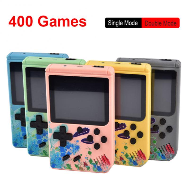 Новинка 400 В 1 портативная игровая консоль в стиле ретро портативная Карманная игровая консоль мини портативная игровая консоль для детей п...