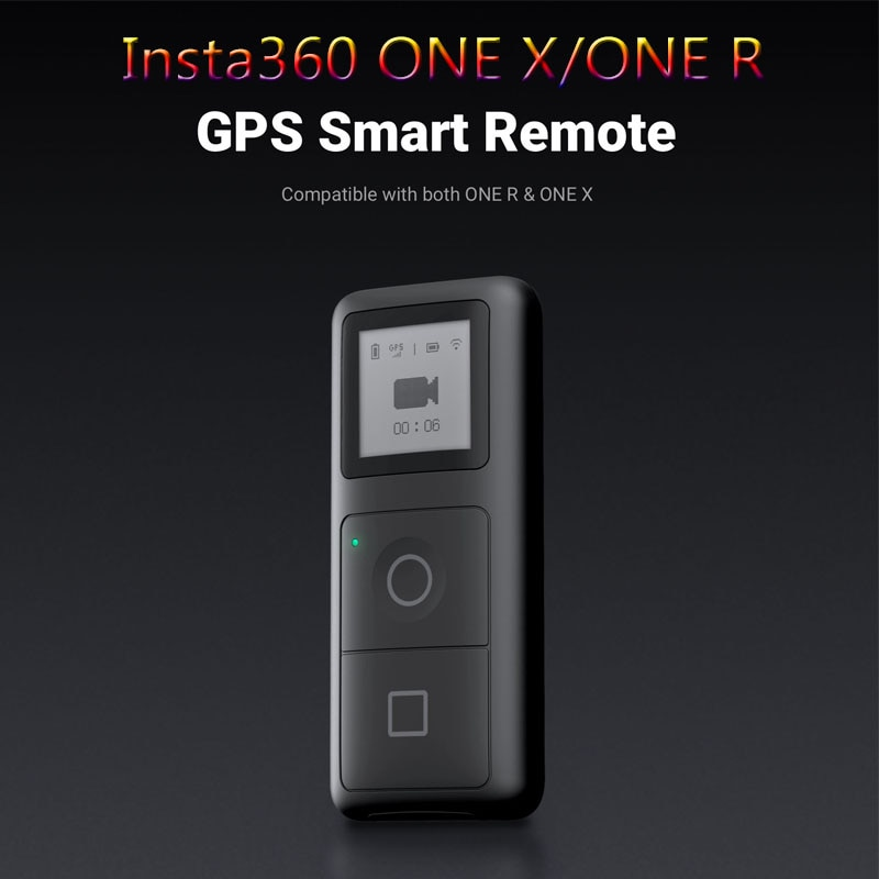 Insta360 ONE x2 / ONE X / ONE R  GPS Smart Remote Control for Action Camera VR 360 Panoramic Camera