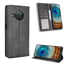 For Nokia X10 X20 Luxury Flip PU Leather Wallet Magnetic Adsorption Case For For Nokia X 10 X 20 Nok