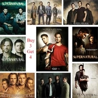 supernatural posters wall decoration good quality glossy paper