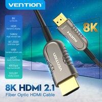 HDMI-кабель Vention 2,1, 8k, 48 Гбит/с, волоконно-оптический кабель HDMI для PS4, проектора, HDTV Box, PS4/3 проектора, ультраскоростной HDMI-кабель
