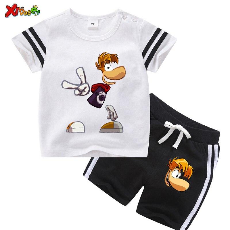 Летняя одежда для малышей, костюм одежды для мальчиков, детская одежда для девочек, повседневная детская одежда, спортивный костюм, Модный к...