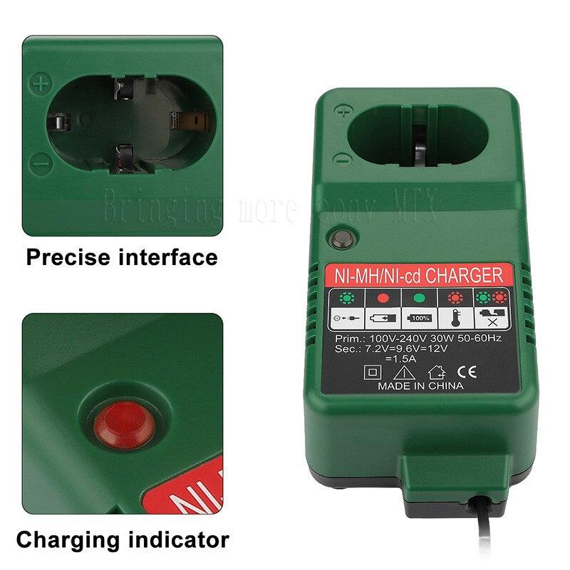 Cargador de repuesto para Hitachi 12V NiCd Ni-Mh cargador de batería estilo Pod cargador de batería para Hitachi EB1214S