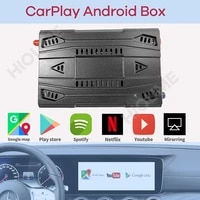 new wireless apple carplay ai box android auto universal car android multimedia player box android 9 0 system mirror link