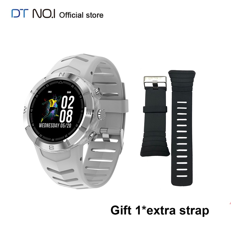 DTN O.I NO.1 DT08 Sport Smart Uhr Echtzeit Herz Rate Monitor bluetooth Musik Sport Smartwatch 2020 für Männer Frauen