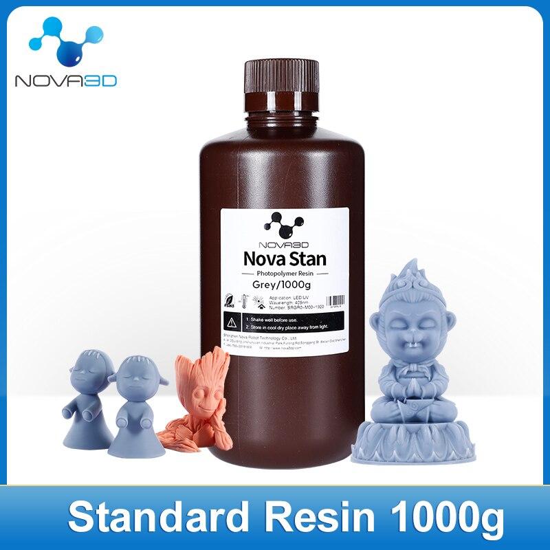 NOVA3D-راتينج طابعة ثلاثية الأبعاد ، مادة طباعة سائلة حساسة للأشعة فوق البنفسجية 405 نانومتر