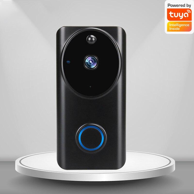 1080P Video Doorbell Wifi Smart Home Tuya App Phone Call Audio Intercom Wireless Door Bell Camera Two-way Intercom Home Alarm enlarge