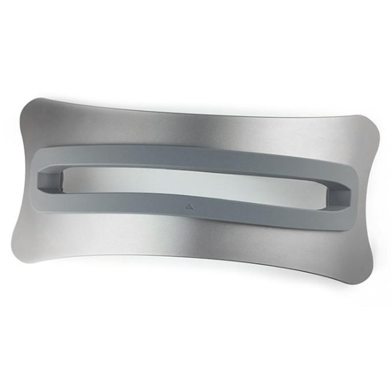 Estante de almacenamiento para ordenador, soporte para portátil, Base de Metal de aleación de aluminio Vertical para Mac book Pro Mac Air para ordenadores portátiles Apple