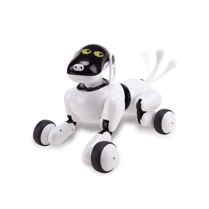 لعبة روبوت الكلب بالذكاء الاصطناعي للأطفال ، التحكم في التطبيق ، اتصال Bluetooth ، لعبة الكلب الأليف ، الذكاء الاصطناعي ، 1803