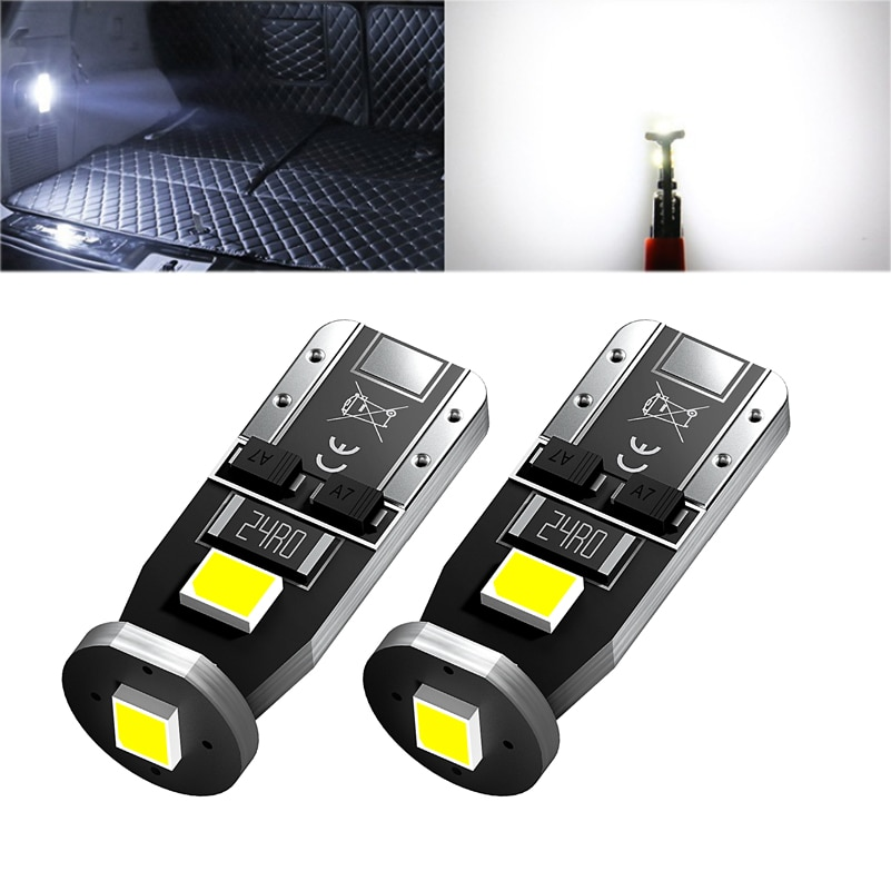 2x LED T10 W5W Светодиодная лампа для освещения салона автомобиля лампа для Lada Granta Vesta Vaz Kalina 2 Priora Niva Samara 2110 Largus 2109 2107 2106 4X4