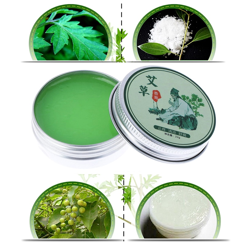 Medical Plasters Wormwood Moxibustion Repellents Cream Anti Pest Mosquito Bite Refreshing Anti-inflammation Mugwort Neck Pain cool and refreshing oil adjustable artemisia oil mosquitoes itching drive midge moxibustion moxibustion partner cream