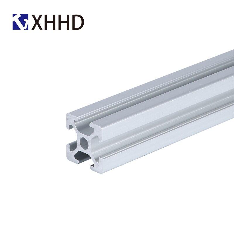 3pcs 2020 Aluminum Profile Extrusion Length Linear Rail 360mm 370mm 380mm For DIY 3D Printer Workbench CNC