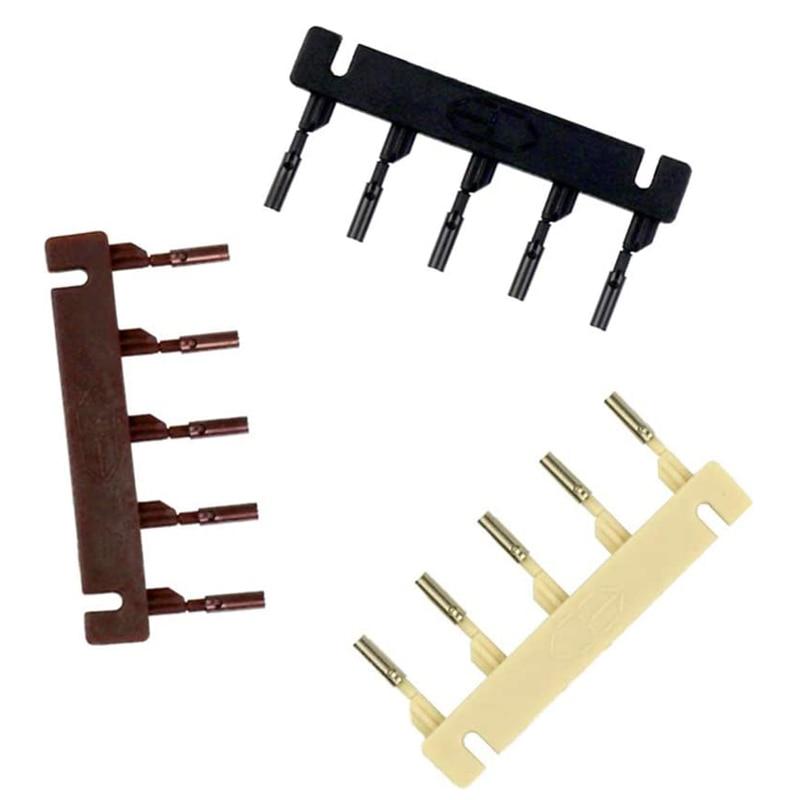40pcs 6D hair extension machine 6D-2 hair comb Blonde Brown Black color hair re-apply 6D hair buckle tools