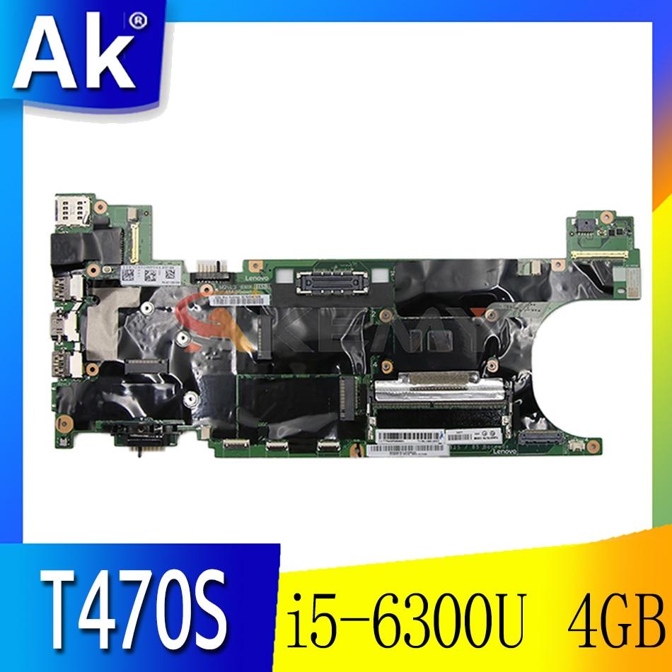 اللوحة الأم للكمبيوتر المحمول لينوفو ثينك باد T470S SR2F0 I5-6300U 4GB NM-B081 01ER312 اختبار كامل
