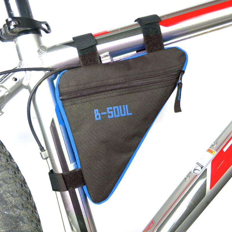 Bicicleta nueva bicicleta marco bicicleta bolsa tubo frontal teléfono impermeable bicicleta accesorios bicicleta triángulo bolsa marco soporte