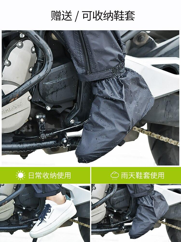 Raincoat Rain Pants Suit Men Poncho Impermeable Waterproof Electric Motorcycle for Adult Abrigos De Hombre Rainwear BK50RC enlarge
