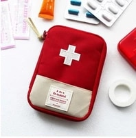 portable first aid medicine bag storage bag outdoor pill survival storage bag first aid kit travel accessories