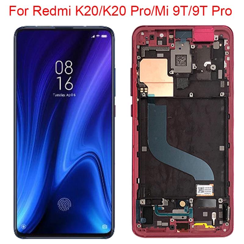 شاشة LCD تعمل باللمس بإطار ، 6.39 بوصة ، لهاتف Xiaomi Mi 9T Pro K20 Pro ، جديد