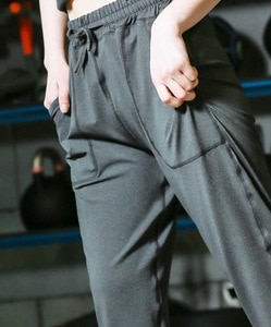 Женские спортивные брюки-карандаш со средней посадкой